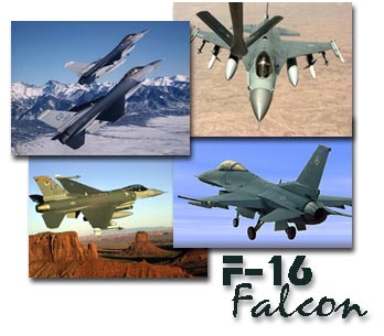 F-16 Falcon Screen Saver Screenshots