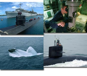 Navy Submarines Screen Saver